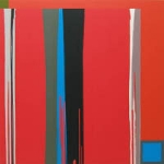 Outpourings: Expansive color paintings.